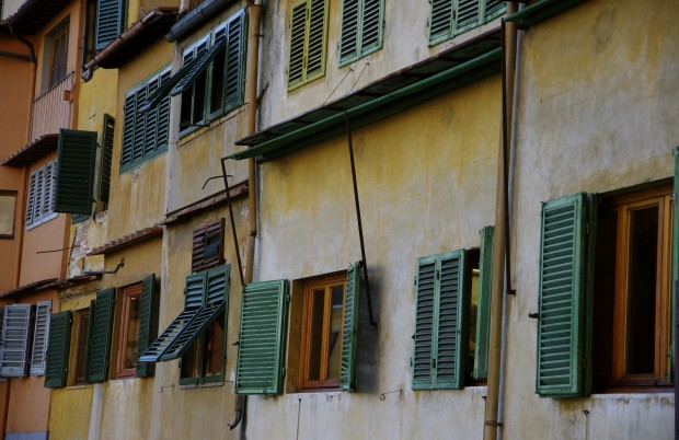 Shutters in Florence