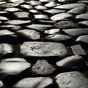 Roman road stones